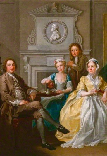 Jonathan Tyers and his family by Francis Hayman, 1740 National Portrait Gallery UK Accession Number NPG5588